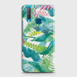 VIVO Y15 Retro Palm Leaves Case