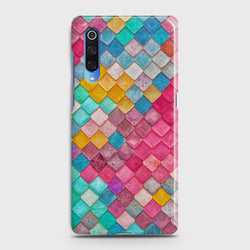 XIAOMI MI 9 Colorful Mermaid Scales Case