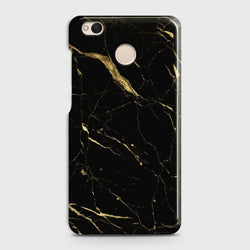 XIAOMI REDMI 4/4X Classic Golden Black Marble Case