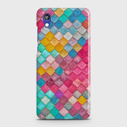 HUAWEI HONOR 8S Colorful Mermaid Scales Case