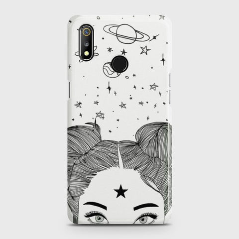 REALME 3 PRO Space Girl Case