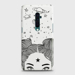 OPPO RENO 10x Zoom Space Girl Customized Case
