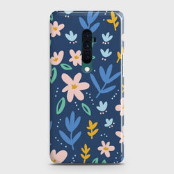 OPPO RENO 10x Zoom Colorful Flowers Customized Case