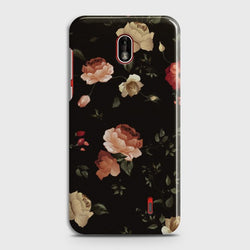 NOKIA 1 PLUS Dark Rose Vintage Flowers Customized Case