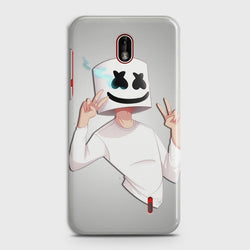 NOKIA 1 PLUS Marshmello Face Customized Case