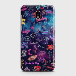 NOKIA 1 PLUS Neon Galaxy Customized Case