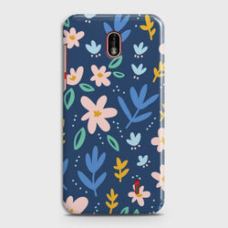NOKIA 1 PLUS Colorful Flowers Customized Case