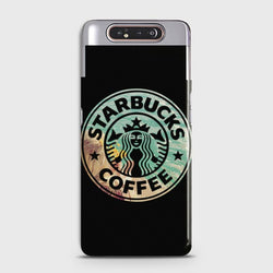 SAMSUNG GALAXY A80 Luxury Brand Coffee Case