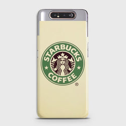 SAMSUNG GALAXY A80 Luxury Brand Coffee Art Case