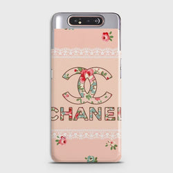 SAMSUNG GALAXY A80 Pinkish Girly Luxury Brand Case