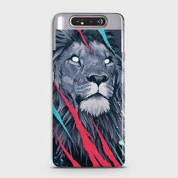 SAMSUNG GALAXY A80 Abstract Animated Lion Case