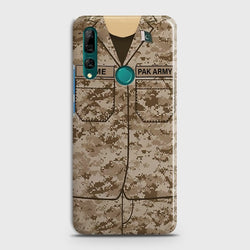 Huawei P Smart Z Army Costume with name Case