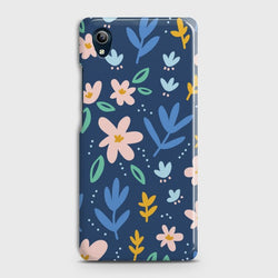 VIVO Y90 Colorful Flowers Case
