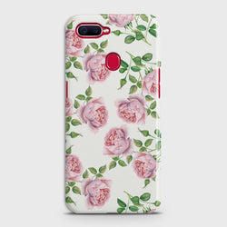 OPPO A5s Pink Flower Pattren Case