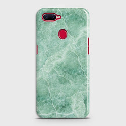OPPO A5s Mint Green Marble Case