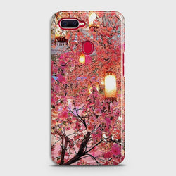 OPPO A5s Pink blossoms Lanterns Case