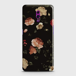 OPPO RENO Dark Rose Vintage Flowers Customized Case