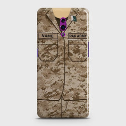 OPPO RENO Army Costume Customized Case