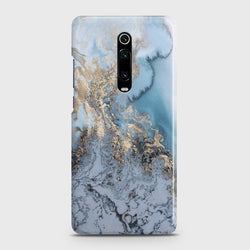 Xiaomi Redmi K20 Golden Blue Marble Case
