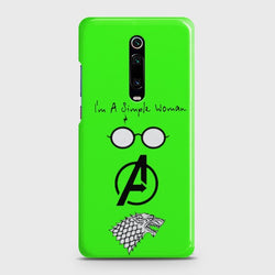 Xiaomi Redmi K20 I am a simple woman Customized Case