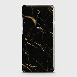 Xiaomi Redmi K20 Classic Golden Black Marble Customized Case