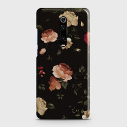 XIAOMI MI 9T Dark Rose Vintage Flowers Case