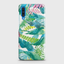 SAMSUNG GALAXY A50S Retro Palm Leaves Case