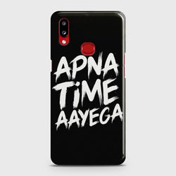 SAMSUNG GALAXY A10S Apna Time Aayega Case