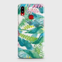 SAMSUNG GALAXY A10S Retro Palm Leaves Case