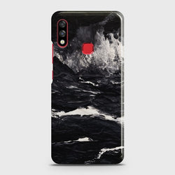 INFINIX HOT 7 PRO Black Marble Case