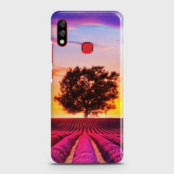 INFINIX HOT 7 PRO Violet Lavender Fields Case