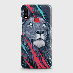 INFINIX HOT 7 PRO Abstract Animated Lion Case