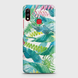 INFINIX HOT 7 PRO Retro Palm Leaves Case