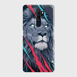 OPPO A9 2020 Abstract Animated Lion Case