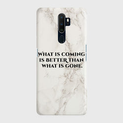 OPPO A9 2020 What Is Coming Case