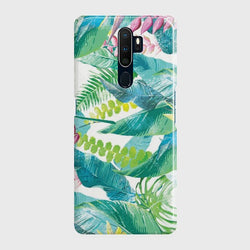 OPPO A9 2020 Retro Palm Leaves Case