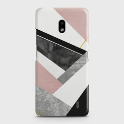 NOKIA 2.2 Geometric Luxe Marble Case