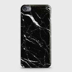 IPOD TOUCH 7 Trendy Black Marble Case