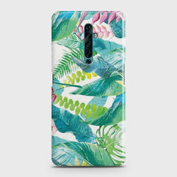 OPPO RENO 2F Retro Palm Leaves Case