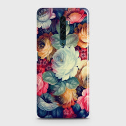 OPPO RENO 2 Vintage Colorful Flowers Case
