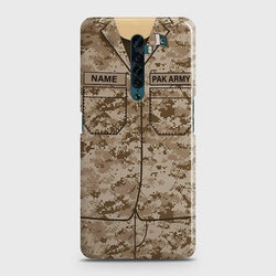 OPPO RENO 2 Army Costume Case