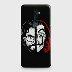 OPPO RENO 2 MONEY HEIST PROFESSOR Case