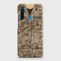 XIAOMI REDMI NOTE 8 Army Costume Case