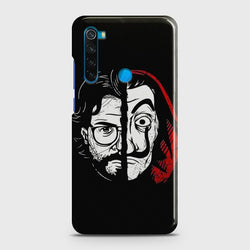 XIAOMI REDMI NOTE 8 MONEY HEIST PROFESSOR Case