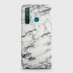 REALME 5i Trendy White Marble Case