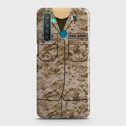 REALME 5 Army Costume Case