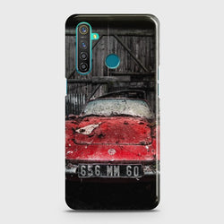 REALME 5i Old Rusty Car Case