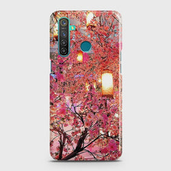 REALME 5i Pink blossoms Lanterns Case