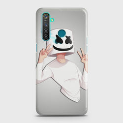 REALME 5 Marshmello Face Case