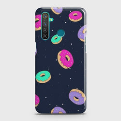 REALME 5i Colorful Donuts Case